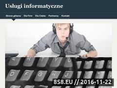 Miniaturka komputery.zgora.pl (Usługi informatyczne - Zielona Góra)