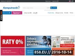 Miniaturka domeny www.komputronik.pl