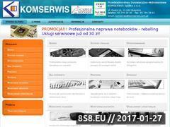 Miniaturka domeny www.komserwis.com.pl