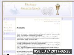 Miniaturka domeny www.komunia.swieta.biz