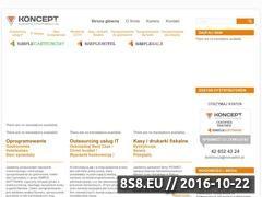 Miniaturka domeny konceptcis.pl