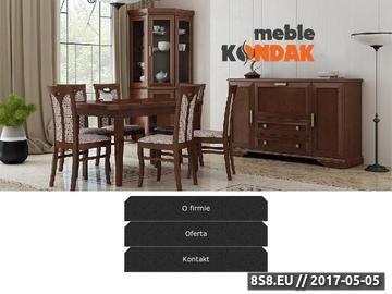 Zrzut strony Producent krzeseł i stołów - meble kalwaryjskie - stoły i krzesła drewniane