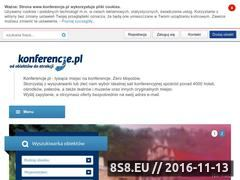 Miniaturka domeny www.konferencje.pl