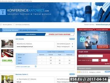 Zrzut strony Konferencje Katowice