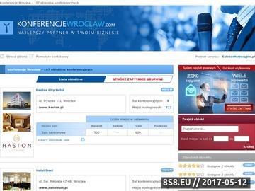 Zrzut strony Konferencje Wrocław