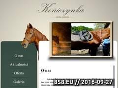 Miniaturka domeny www.koniczynka-konie.pl