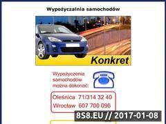 Miniaturka domeny www.konkret.comweb.pl