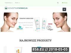 Miniaturka konopiafarmacja.pl (Lecznicze produkty z CBD)