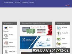 Miniaturka www.konplast.com.pl (Skrzyniopalety, produkty POS i AGD)