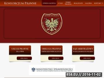 Zrzut strony Radca prawny Tuchów, Brzesko, Dąbrowa Tarnowska