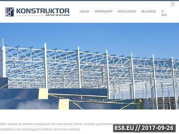 Zrzut strony Projektowanie konstrukcji stalowych