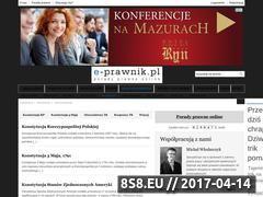 Miniaturka domeny konstytucja.e-prawnik.pl