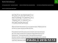 Miniaturka domeny www.konta-internetowe.pl