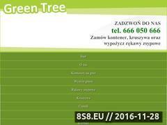 Miniaturka domeny kontenerygreentree.pl