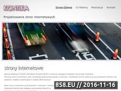 Miniaturka domeny www.kontika.com