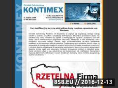 Miniaturka domeny www.kontimex.pl