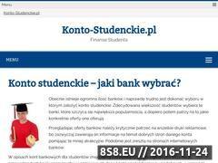Miniaturka domeny www.konto-studenckie.pl