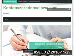 Miniaturka domeny www.kontooszczednosciowe.com