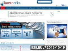 Miniaturka domeny www.kontoteka.pl