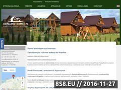 Miniaturka domeny www.kopalino-domki.pl