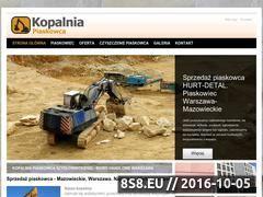 Miniaturka domeny kopalniapiaskowca.waw.pl