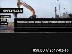 Miniaturka domeny koparka-praca.pl