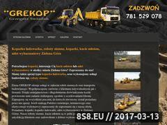 Miniaturka domeny koparki-grekop.pl