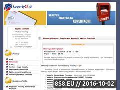 Miniaturka domeny www.koperty24.pl
