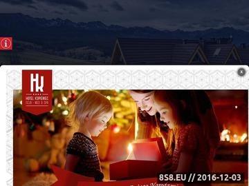 Zrzut strony Sportowy hotel Zakopane