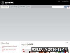Miniaturka domeny www.kopikom.com.pl