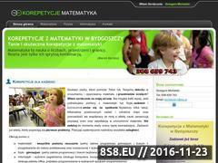 Miniaturka korepetycje.hostoi.com (Korepetycje Bydgoszcz - Matematyka)