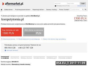 Zrzut strony Korepetytornia.pl - Twoje centrum korepetycji