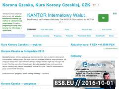Miniaturka domeny koronaczeska.com.pl