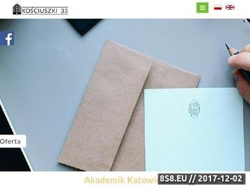 Zrzut strony Akademik Katowice