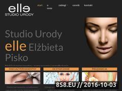 Miniaturka Oferta salonu kosmetycznego (kosmetykaelle.pl)