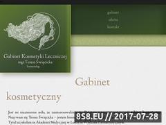 Miniaturka domeny kosmetykalecznicza.com