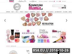 Miniaturka domeny kosmetykomania.pl