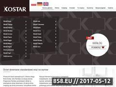 Miniaturka domeny www.kostar.pl