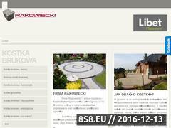 Miniaturka domeny www.kostka-rakowiecki.pl