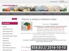 Miniaturka www.kostkirubikasklep.pl (Internetowy sklep z kostkami Rubika.)