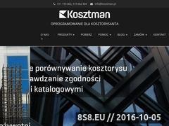 Miniaturka domeny kosztman.pl