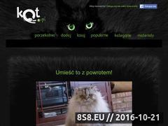 Miniaturka domeny www.kot.pl