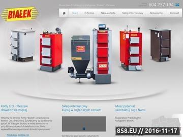 Zrzut strony Kotły CO producent Kolty-Bialek.pl