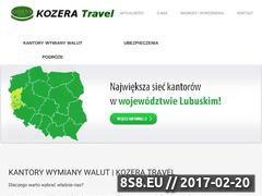 Miniaturka domeny kozera-travel.pl
