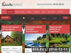 Miniaturka domeny www.koziellodomki.pl