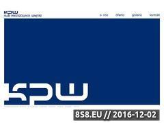 Miniaturka domeny www.kpw.biz.pl