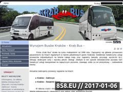 Miniaturka domeny www.krabbus.pl