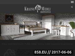 Miniaturka krainameblidrewnianych.pl (Meble z drewna i meble drewniane)