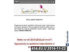 Miniaturka domeny www.krainausmiechu.eu