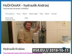 Miniaturka domeny krakow-hydraulik.pl